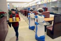 China's Robot Cafe