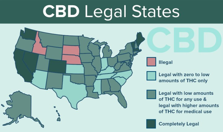 CBD and the Law in your state