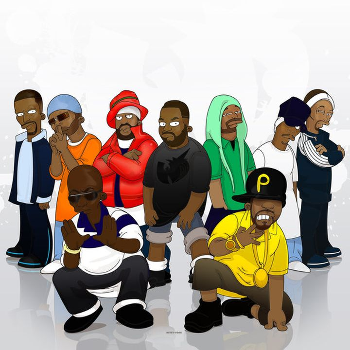 Wu_Tang_Clan_by_SimpsonsCameos