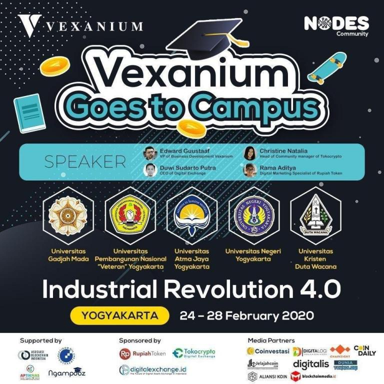 Vexanium Goes to Campus 2020