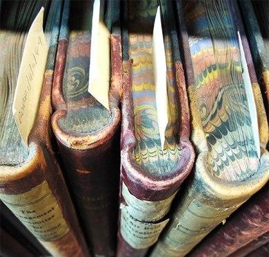 partes del libro - cortes