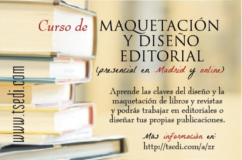 curso maquetacion y diseño editorial-Madrid