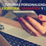 tutorias de escritura y redaccion