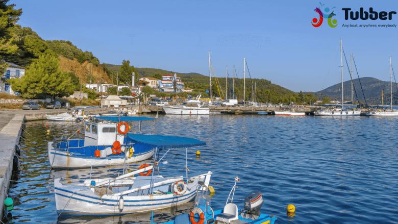 Haven van Porto Koufo