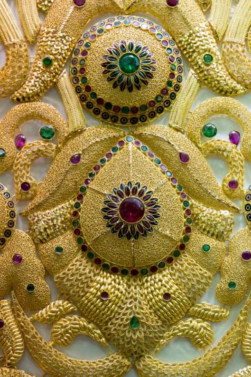 Feiner Goldschmuck im Goldsoukh in Dubai