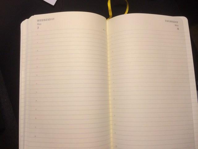 日记本内部设计
