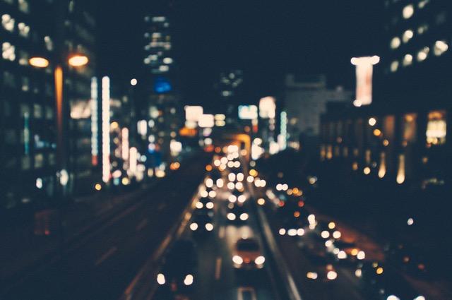 conducir de noche navidad