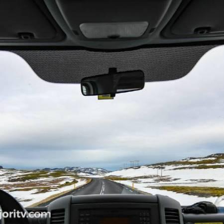 Conducir con frio