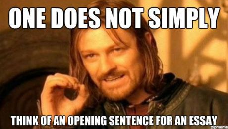 boromir-opening-sentence-essay