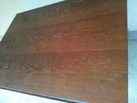 ダイニングテーブル再塗装