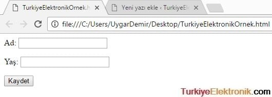 php_form_ornegi