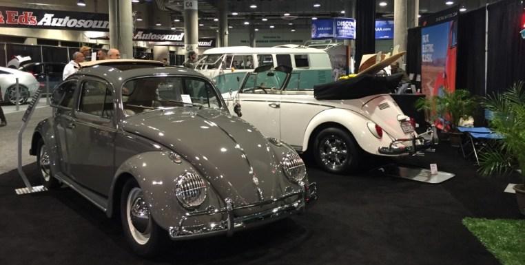 Refurbished, electric VW Beetles and van