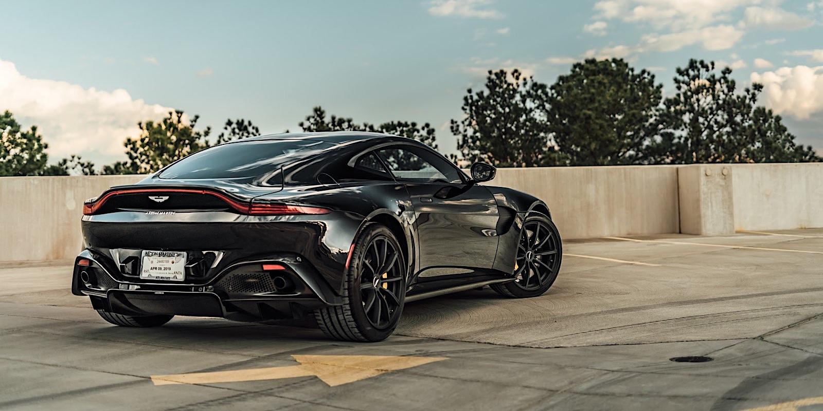 Under The Hood Of The Aston Martin Vantage Field Notes The Turo Blog