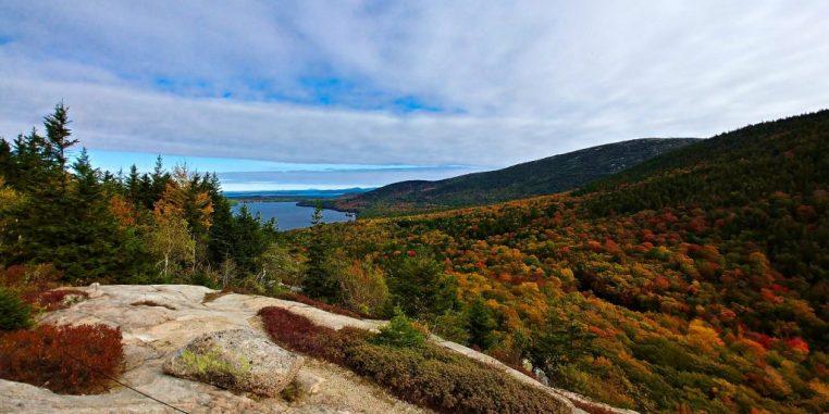 Landscape of Acadia National Park
