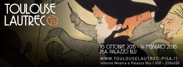 Toulouse-Lautrec on at Palazzo Blu, Pisa