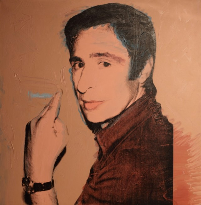 03 Andy Warhol, Portrait of Giuliano Gori, 1974