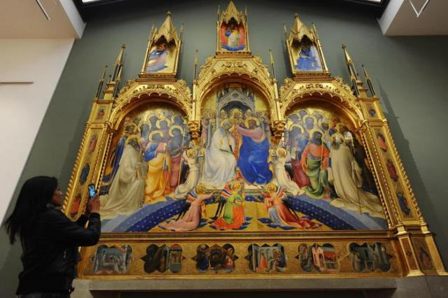 Art: Reopened rooms at Uffizi Museum in Florence