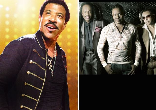 04 Lionel Richie and Earth Wind & Fire
