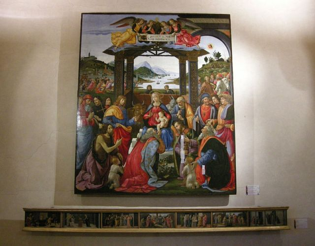 05 Adoration of the Magi by Domenico Ghirlandaio