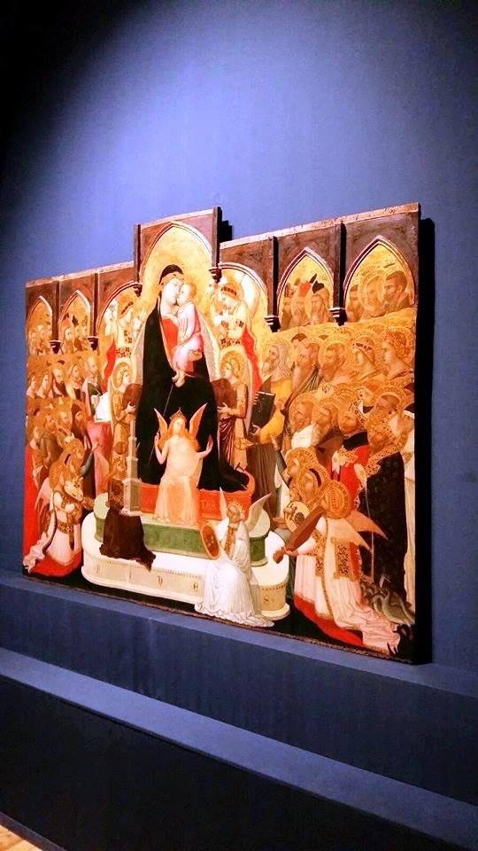 Ambrogio Lorenzetti, Maestà in Trono, Museum of Sacred Art, Massa Marittima