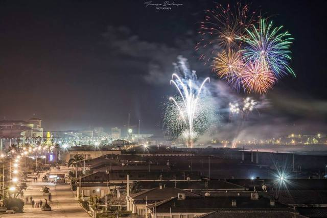 Carnevale di Viareggio, last evening's fireworks @Francesco Bevilacqua