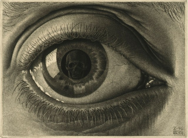 M.C. Escher, Eye, 1946 © the M.C. Escher Company B.V.-Baarn- the Netherlands