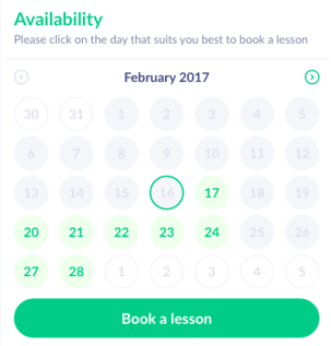 Easy one-click scheduling for online tutoring platform. Students find tutors and book lessons with ease - Tutor.id