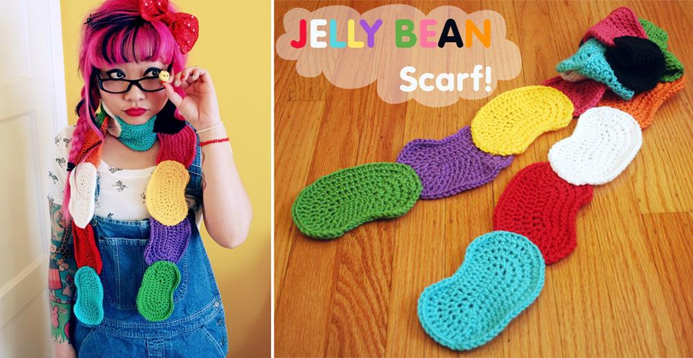 Twinkie Chan | FREE Jelly Bean Scarf