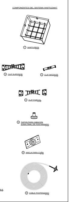 Wafflemat Foundation - Monserrat Detail