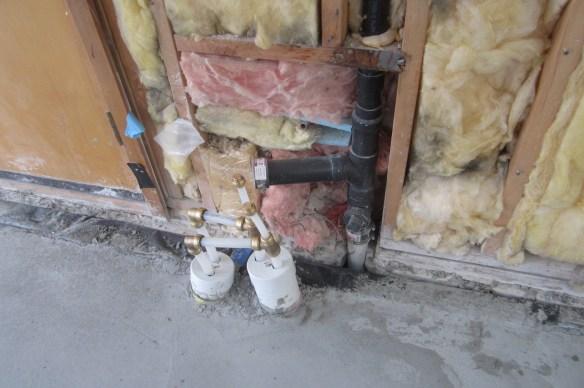 Garage water supply