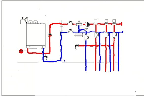 Challenger Boiler System Pipe