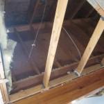Higher attic ceiling