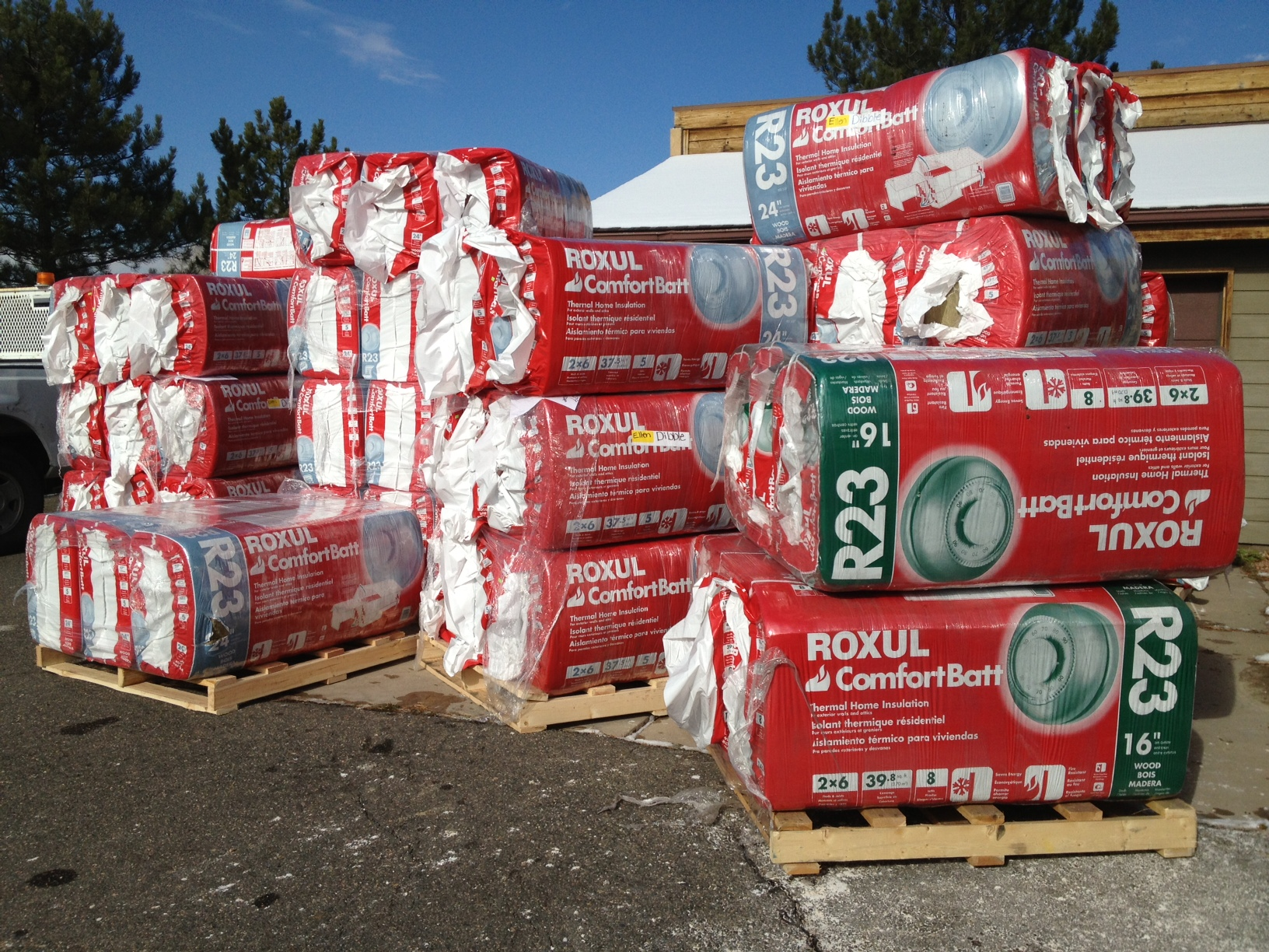 Roxul rock wool arrives twinsprings research institute for What is roxul insulation