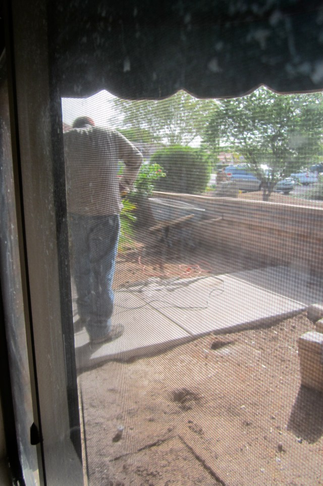 New front patio