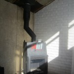 Chimney with 45º angle