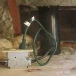 Wiring for Radon Fan