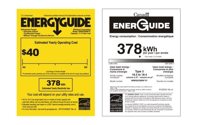 Whirlpool Refrigerator_Energy Guide_EN