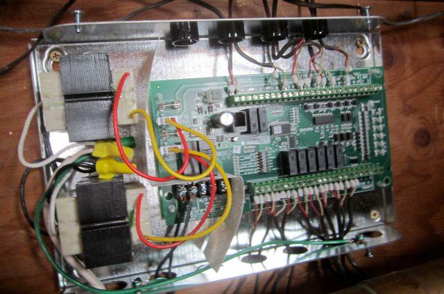 Original Boiler Zone Control Wiring