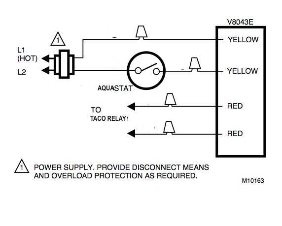 honeywell zone valve relay wiring diagram  ac condenser fan