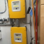 Two Sunny Boy Inverters