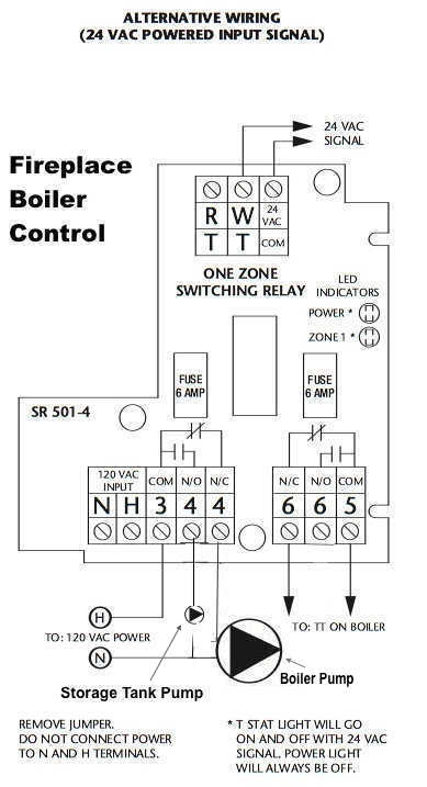 Taco Switching Relay Alt V Power on Taco Switching Relay Wiring