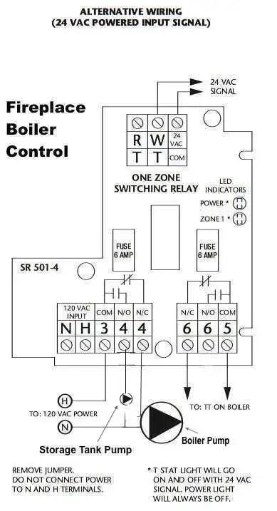 Taco 501-4 Switching Relay Alt 24 V