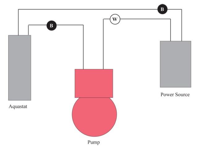 Simple Aquastat Wiring