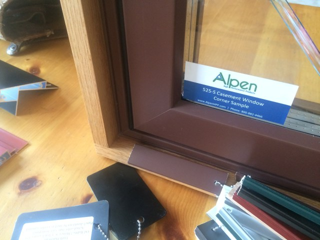 Alpen Window Corner