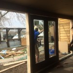 Middle French Door
