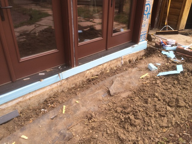 Foam Insulation under Doors