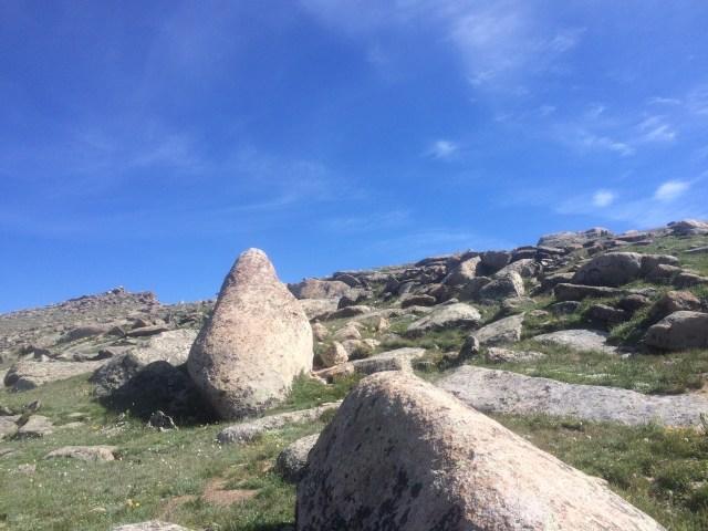 Tundra walk on Ute Trail