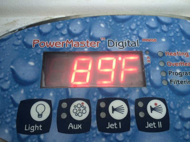 Temp on Topside Control