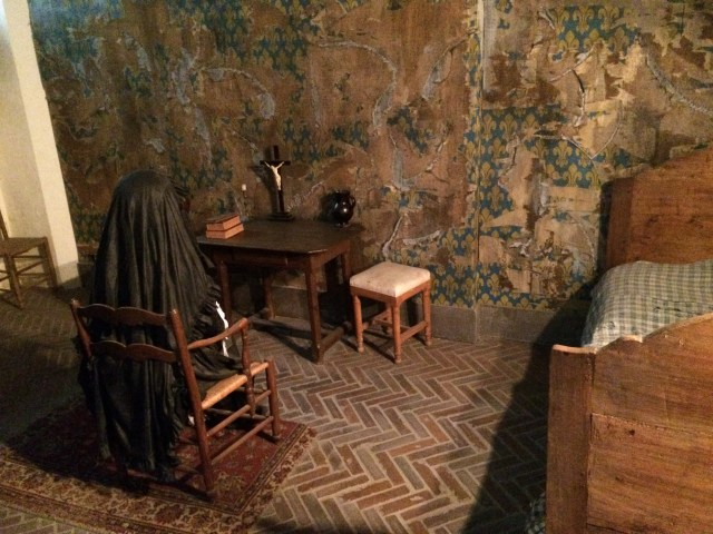 Reconstruction Marie Antoinette's Cell
