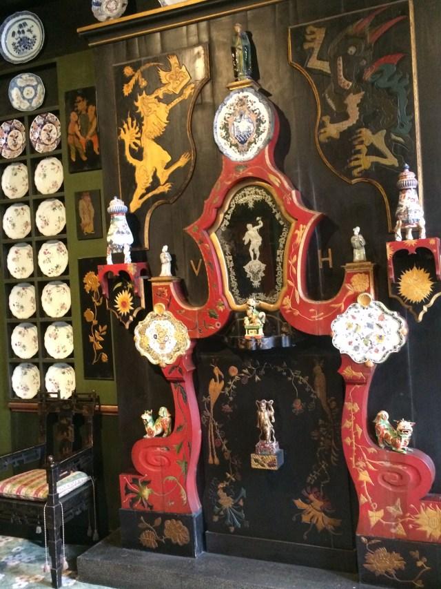 Victor Hugo Chinese Fireplace